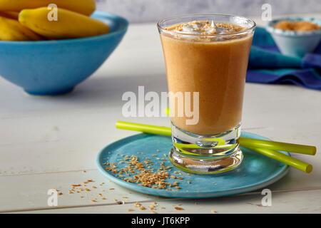Carrot cake shake - Stock Photo