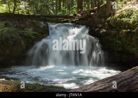 Whitehorse Falls - Stock Photo