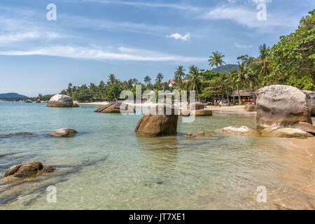 Lamai Beach, Koh Samui Island, Thailand - Stock Photo