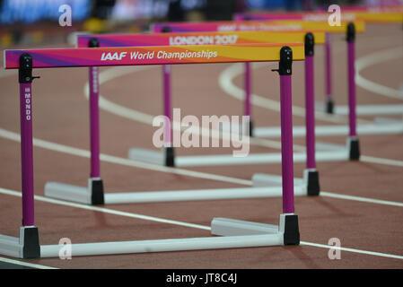 London, UK. 7th Aug, 2017. IAAF World Championships. Monday. Credit: Matthew Chattle/Alamy Live News - Stock Photo