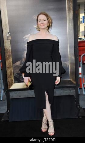 Los Angeles, CA, USA. 7th Aug, 2017. Miranda Otto at arrivals for ANNABELLE: CREATION Premiere, TCL Chinese Theatre - Stock Photo