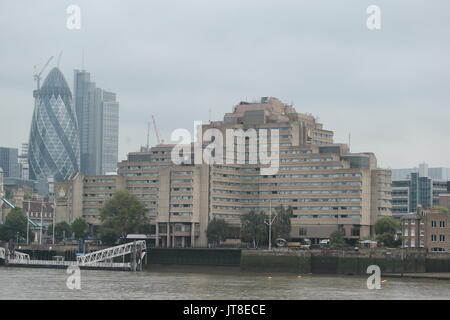 London, UK. 08th Aug, 2017. Gouman Hotels The Tower It has been confirmed by the IAAF that a vomiting bug outbreak - Stock Photo