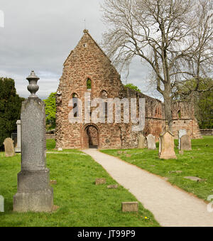 Ruins of historic Beauly priory, near Inverness Scotland - Stock Photo