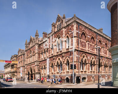 21 June 2017: Exeter, Devon, England, UK - Albert Memorial Museum and Art Gallery, Queen Street, Exeter. - Stock Photo