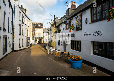 Picturesque harbour town of Ifracombe, North Devon, England, United Kingdom, Europe - Stock Photo