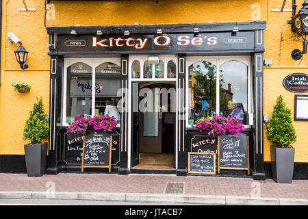Local pub in Kinsale, County Cork, Munster, Republic of Ireland, Europe - Stock Photo
