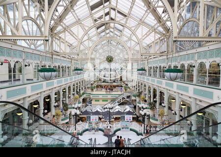 Stephen's Green Shopping Centre, Dublin City, County Dublin, Republic of Ireland, Europe - Stock Photo