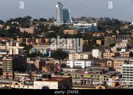Kampala city, Uganda, Africa - Stock Photo