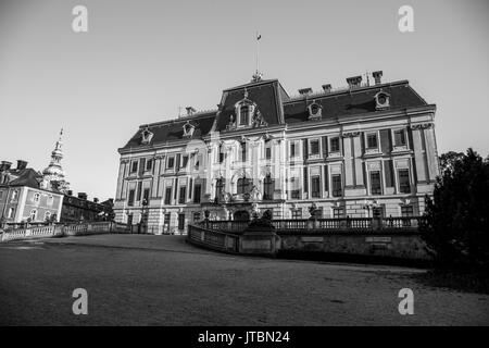 Pszczyna Castle - classical-style palace in the city of Pszczyna. One of the most beautiful castle residences in - Stock Photo