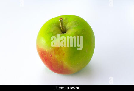 Apple Green Apple isolated on White Background - Stock Photo