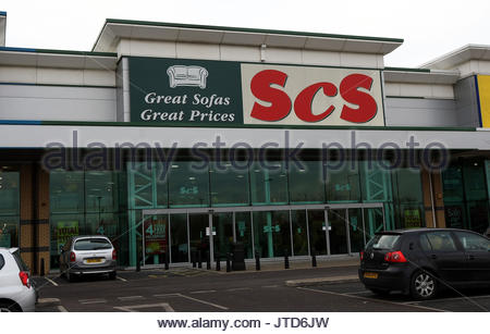 File photo dated 12/12/08 of ScS furniture store, as the sofa chain revealed second-half orders slumped by 5% as - Stock Photo
