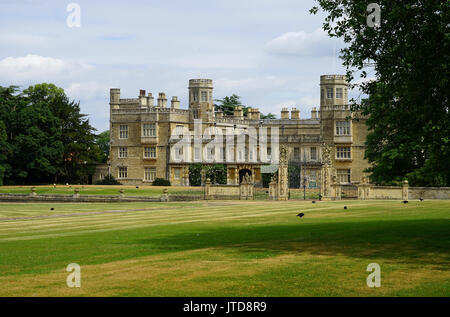 The House at Castle Ashby - Stock Photo