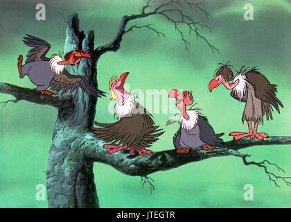 VULTURES THE JUNGLE BOOK (1967 Stock Photo, Royalty Free ...