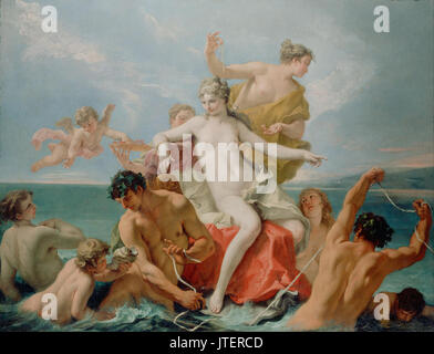 Sebastiano Ricci (Italian   Triumph of the Marine Venus - Stock Photo