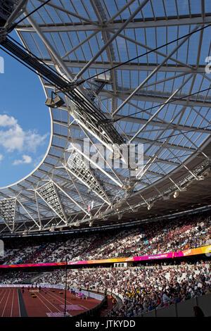 IAAF world athletic Championships, London stadium 2017 - Stock Photo