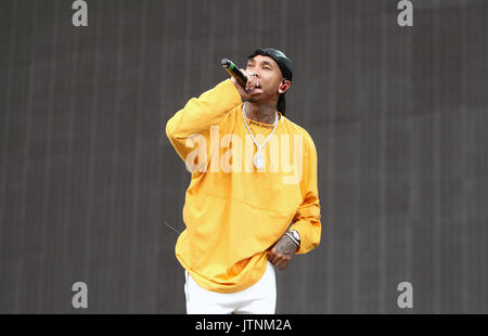 Day Three of Wireless Festival in Finsbury Park, London on Sunday 9th July 2017 (Photos by Ian Bines/WENN)  Featuring: - Stock Photo