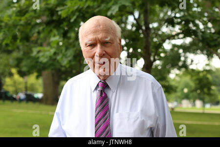 U.S. Senator Patrick Leahy of Vermont during a Democratic event on healthcare outside the U.S. Capitol July 12, - Stock Photo