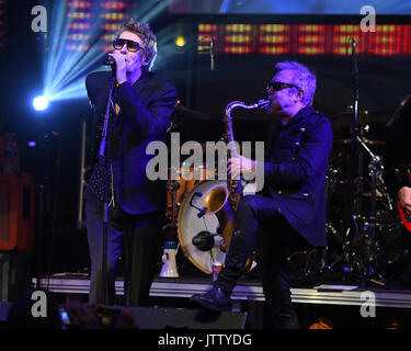 Fort Lauderdale, FL, USA. 09th Aug, 2017. The Psychedelic Furs in concert at The Culture Room on August 9, 2017 - Stock Photo