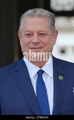 London, UK. 10th Aug, 2017. Ex US Vice President Al Gore attends the UK premiere of An Inconvenient Sequel Truth - Stock Photo
