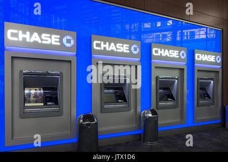 Automatic Teller Machine Atm Machines At Travelex Bureau De Change Stock Photo Royalty Free