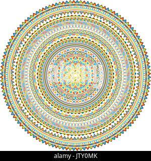 Mandala. Mongolian National ornament element for designers. - Stock Photo