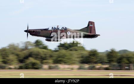 Pilatus PC-9M, Slovenian Air Force - Stock Photo