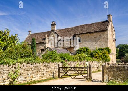 7 July 2017: Bradford on Avon, Somerset, England, UK - Barton Farm, historically an outlying farm of Shaftesbury - Stock Photo