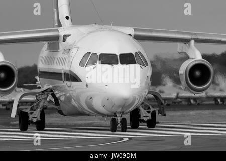 AVRO RJ100, ETPS, Qinetiq - Stock Photo
