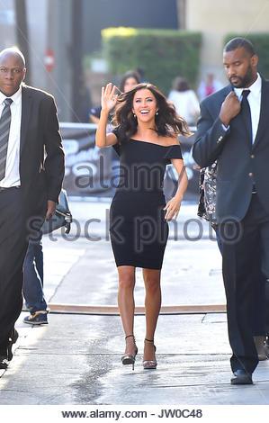 Kaitlyn Bristowe The Bachelorette Is Seen Leaving Jimmy Kimmel Live