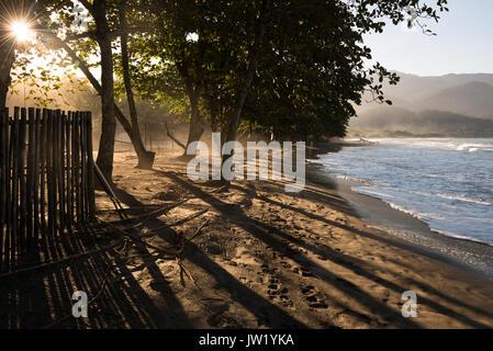 Castelhanos Beach in Ilhabela - Stock Photo