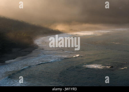 Castelhanos Beach in Ilhabela, Brazil - Stock Photo