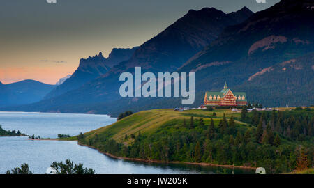 Prince of Wales hotel in Waterton Lakes National Park Canada