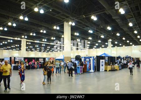 Atmosphere Politicon Pasadena Convention Center July 29,2017 Pasadena,California. - Stock Photo