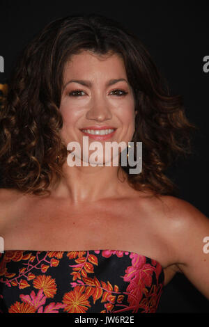 Los Angeles, USA. 10th Aug, 2017. Sarah Stiles 08/10/2017 The Los Angeles Premiere of 'Get Shorty' held at The Pacific - Stock Photo
