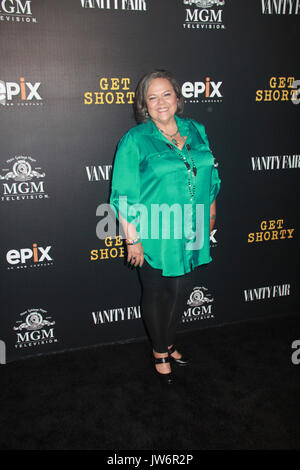 Los Angeles, USA. 10th Aug, 2017. Lidia Porto 08/10/2017 The Los Angeles Premiere of 'Get Shorty' held at The Pacific - Stock Photo