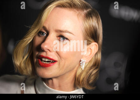 Naomi Watts attends 'The Glass Castle' New York screening at SVA Theatre on August 9, 2017 in New York City. - Stock Photo