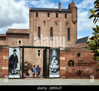 Europe, France, Occitanie,Tarn, Albi city,  the episcopal city, listed as World Heritage by UNESCO, the Toulouse - Stock Photo