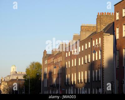 Georgian architecture in South Dublin - Stock Photo