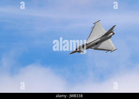 RAF Typhoon FGR4 Display Team - Stock Photo