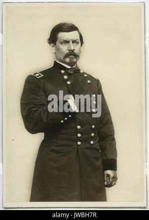 Gen George McClellan - Civil War Photographs - Stock Photo