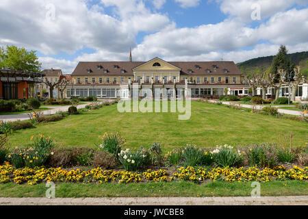 Spa house with casino, Bad Dürkheim, wine route , Palatinate, Rhineland-Palatinate, Germany - Stock Photo
