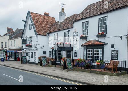 The Malthouse High Street Thornbury South Gloucestershire - Stock Photo