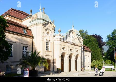 Königliches Kurhaus (Royal Spa House), Bad Reichenhall, Oberbayern, Upper Bavaria, Bayern, Bavaria, Germany - Stock Photo