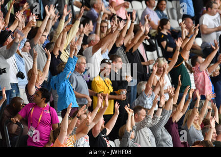 Queen Elizabeth Park, London, UK. 12th August 2017. IAAF World Championships. Day 9. - Stock Photo