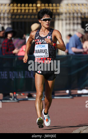 London, UK. 13th Aug, 2017. Satoshi Maruo (JPN) Athletics : IAAF World Championships London 2017 Men's 50km Race - Stock Photo