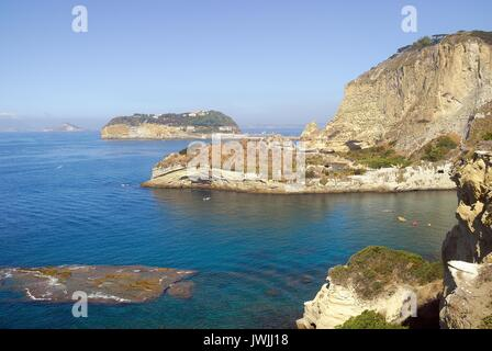 Naples, the Pausilypon archaeological park is an archaeological area in the Posillipo district opened in 2009. The - Stock Photo