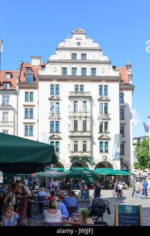 Orlando Haus house orlando haus at square platzl restaurant münchen munich