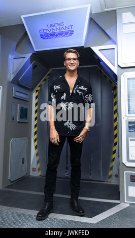 Celebrities attend the launch of  Alien Escape at Madame Tussauds London  Featuring: Oliver Proudlock Where: London, - Stock Photo