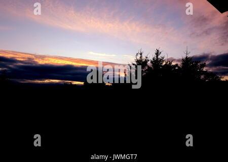 Elbląg City Sunset - Stock Photo