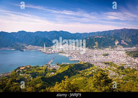 Owase City, Japan city and landscape. - Stock Photo